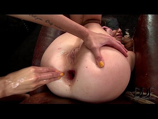 Subbie tiffany doll gets her ass fisted by mistress clara g.