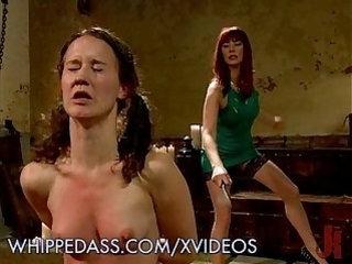 Kinky Lesbian Ass Whipping