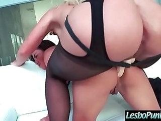 Lez Nasty Girls Phoenix Marie Amara Romani Get Punish each other With Sex Dildos