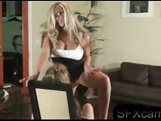 Very hot blonde doing a sexy lesbian striptease. Exclusively for xxxlesbian.vip